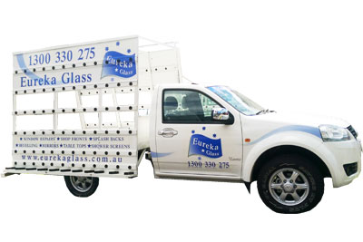 Eureka Glass Service Vehicle - for glass repairs and glass installations in Australia
